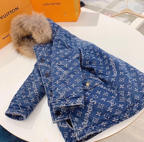 LV fur coat