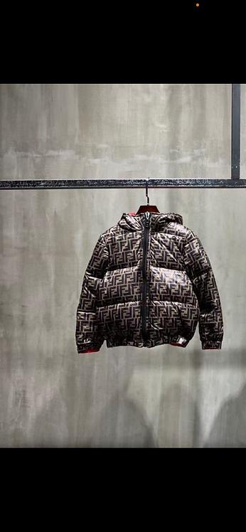 Fendi print coat