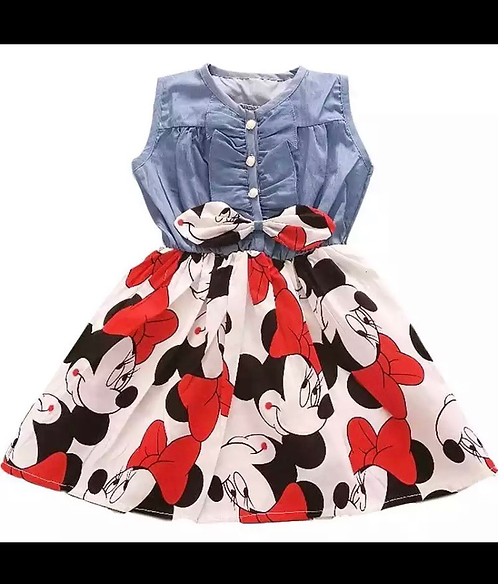 Jean top dress