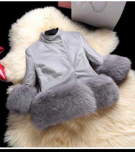 Tutu fur jacket