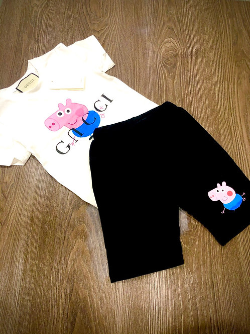 Peppa Pig short suit