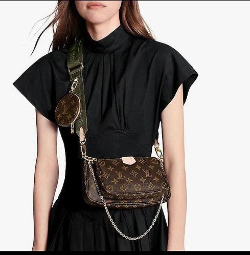 Lv crossbody multi bag