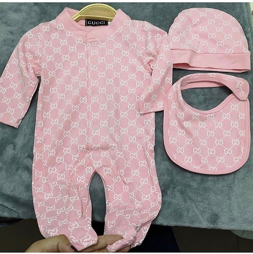 Gg pink 3 piece