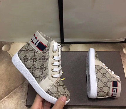 High top GG sneakers