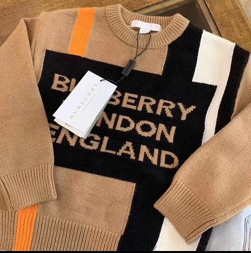 Bur London England sweater
