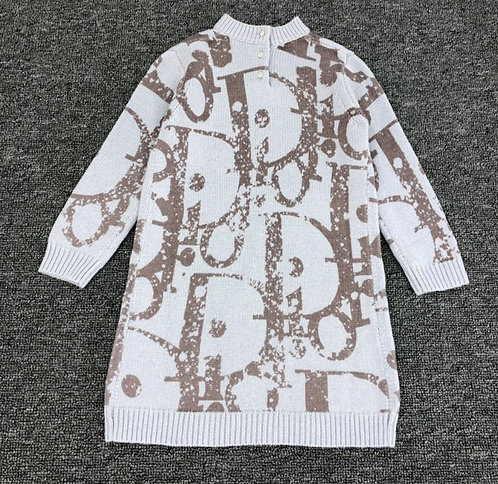 Dior sweater dress