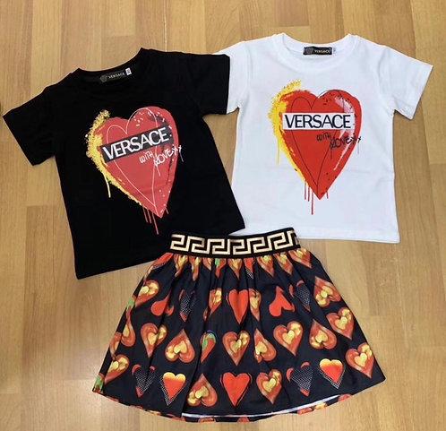 Versace Heart suit
