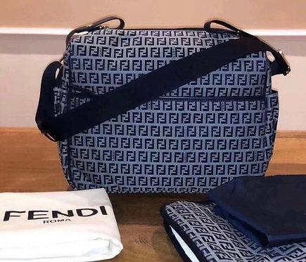 FF diaper bag blue