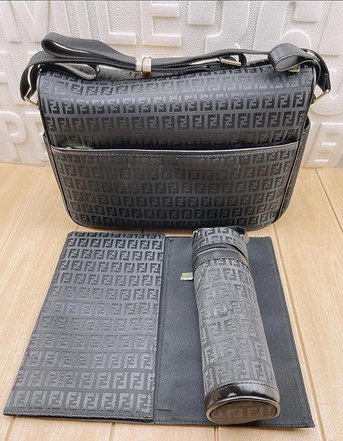 FF grey baby bag