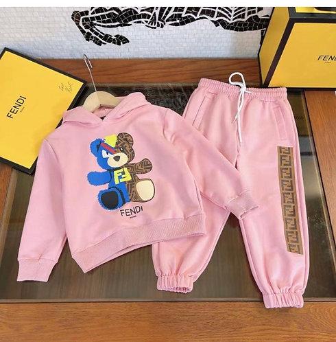 Pink teddy fendi