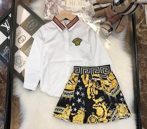 Skirt suit Versace
