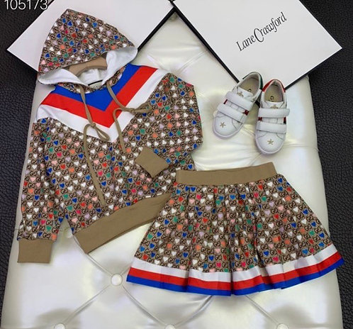 Girl or Boy Red white blue set