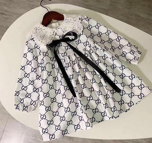 GG long sleeve dress