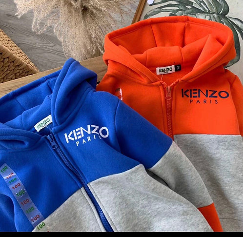 Kenzo two tone suit
