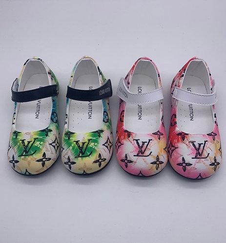 Lv strap shoes