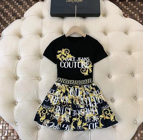 Versace skirt set