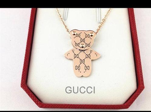 Kids Gg teddy necklace
