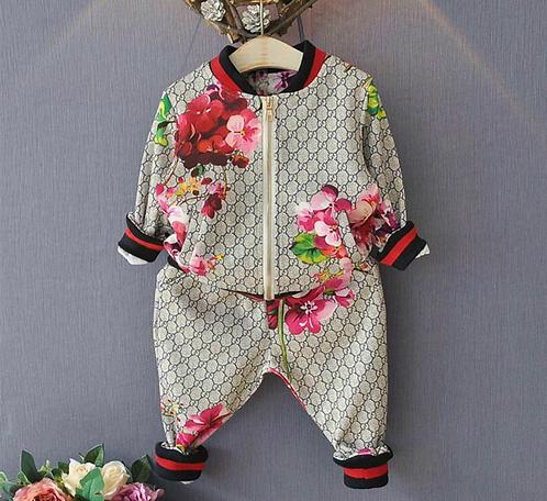 GG Flower suit
