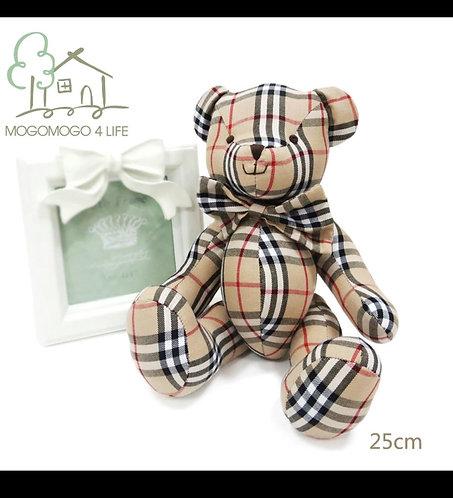 25cm inspired Burberry bear