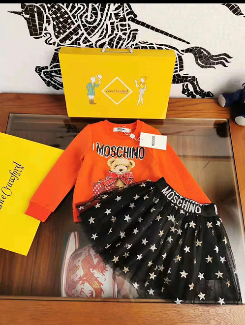 Moschino bear two piece