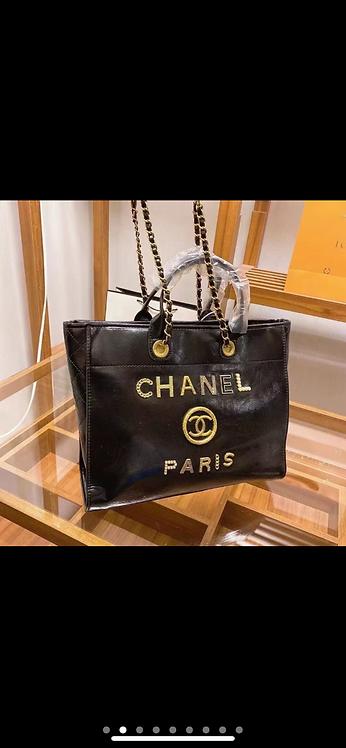 Chanel mom bag
