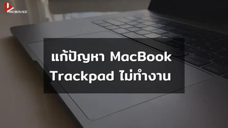 แก้ปัญหา MacBook Trackpad ไม่ทำงาน