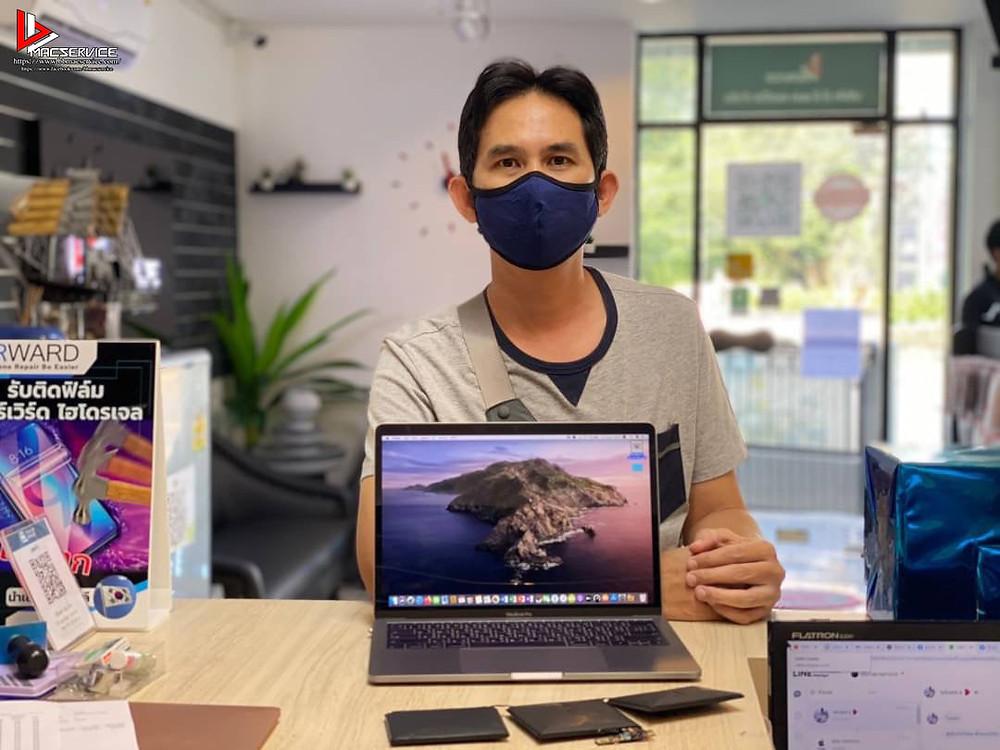 เปลี่ยนแบตเตอรี่ Macbook Pro 13 นิ้ว ปี 2016