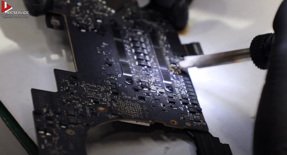 ซ่อมเมนบอร์ด Macbook Pro