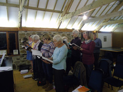 Our rehearsals at Dupath Barn