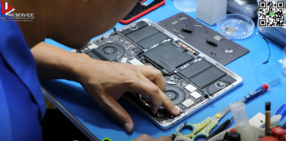ประกอบตัวเครื่อง Macbook pro a1706