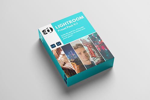 Lightroom Preset Pack V.1 (Mobile)