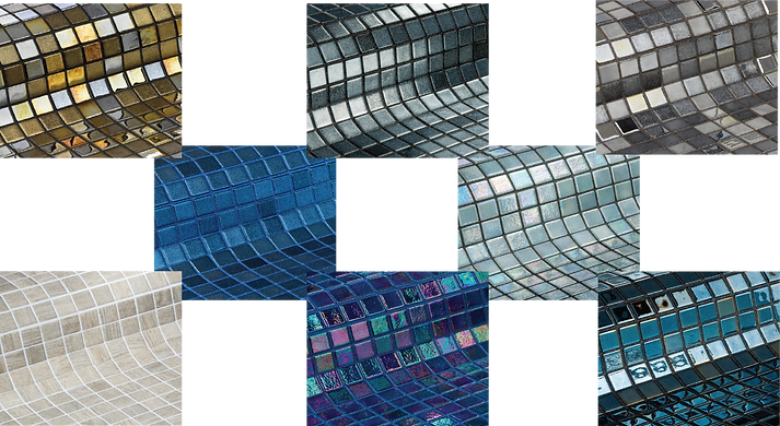 Mosaic Tiles for The One Pool