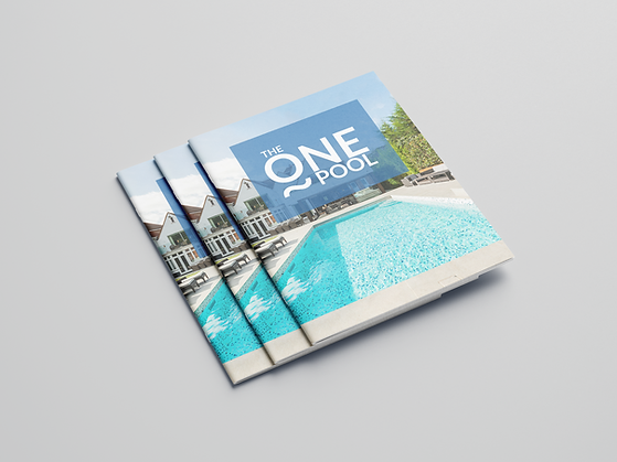 The One Pool One Piece Pool Brochure
