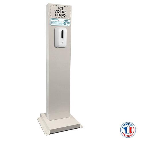 Borne distributeur de gel hydroalcoolique