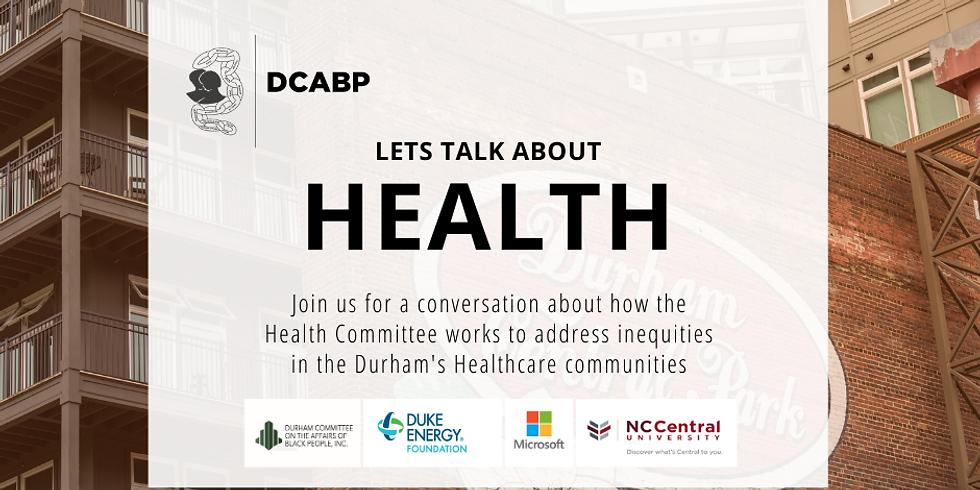 DCABP INC PRESENTS: Health Disparities in Underserved Populations