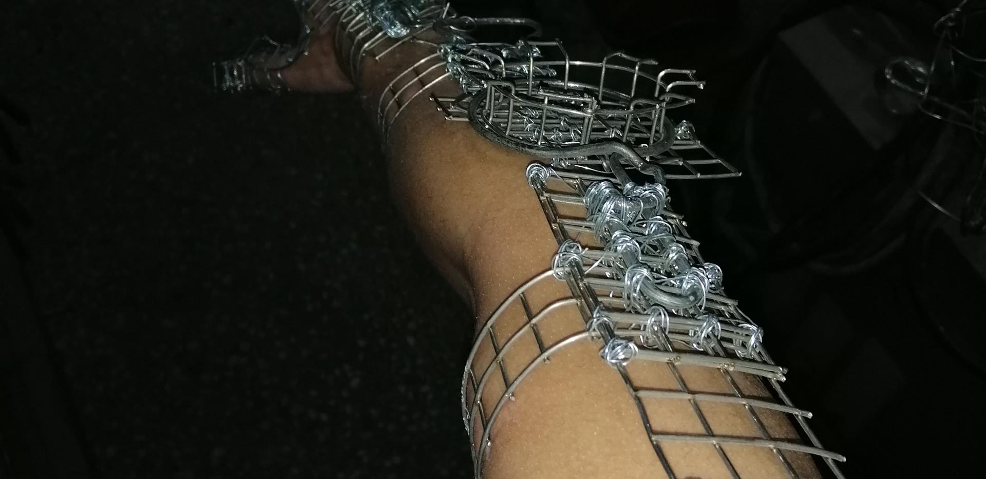 Articulated Exoskeleton, Worn