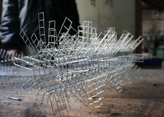 Abstract Waveform Sculpture