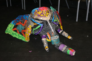 Ancient Future Elephant Puppet