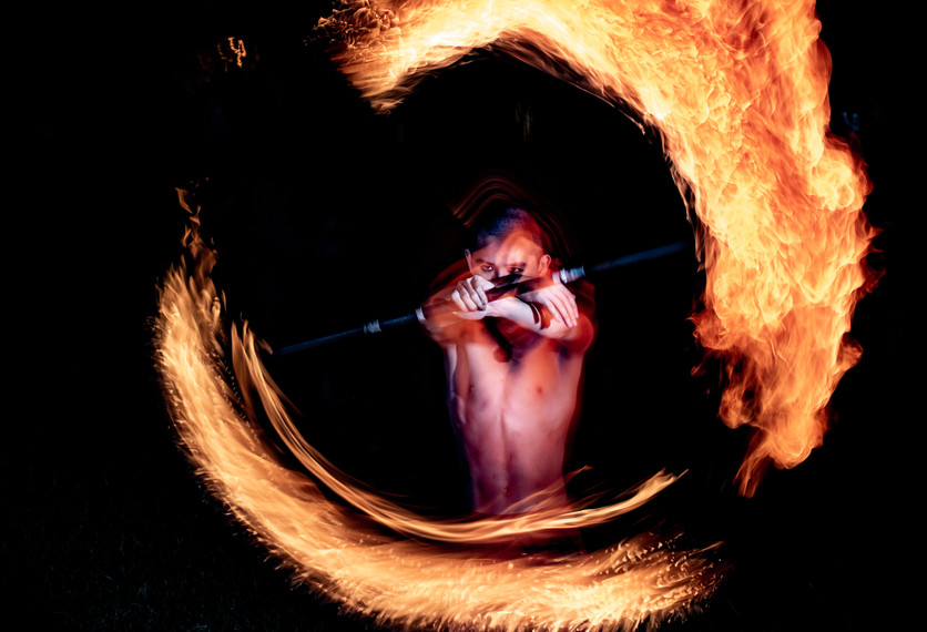 Fire Staff - Flame Dragon