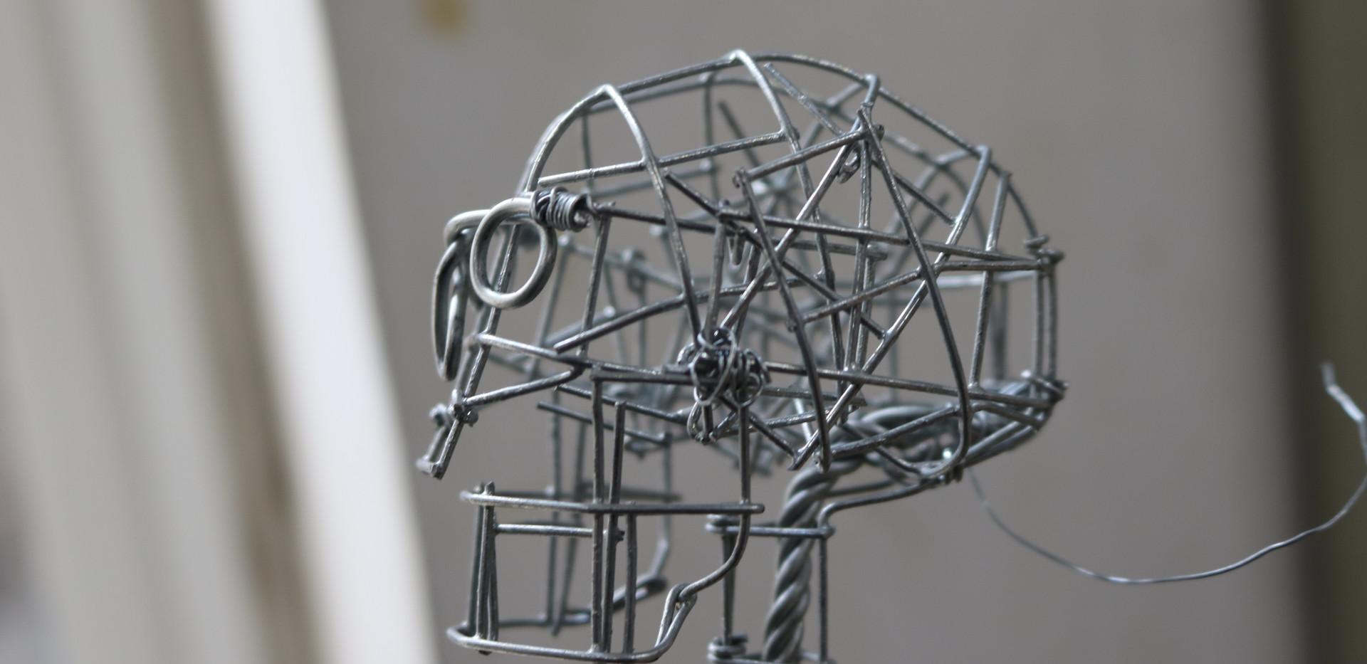 Smaller Wire Skull
