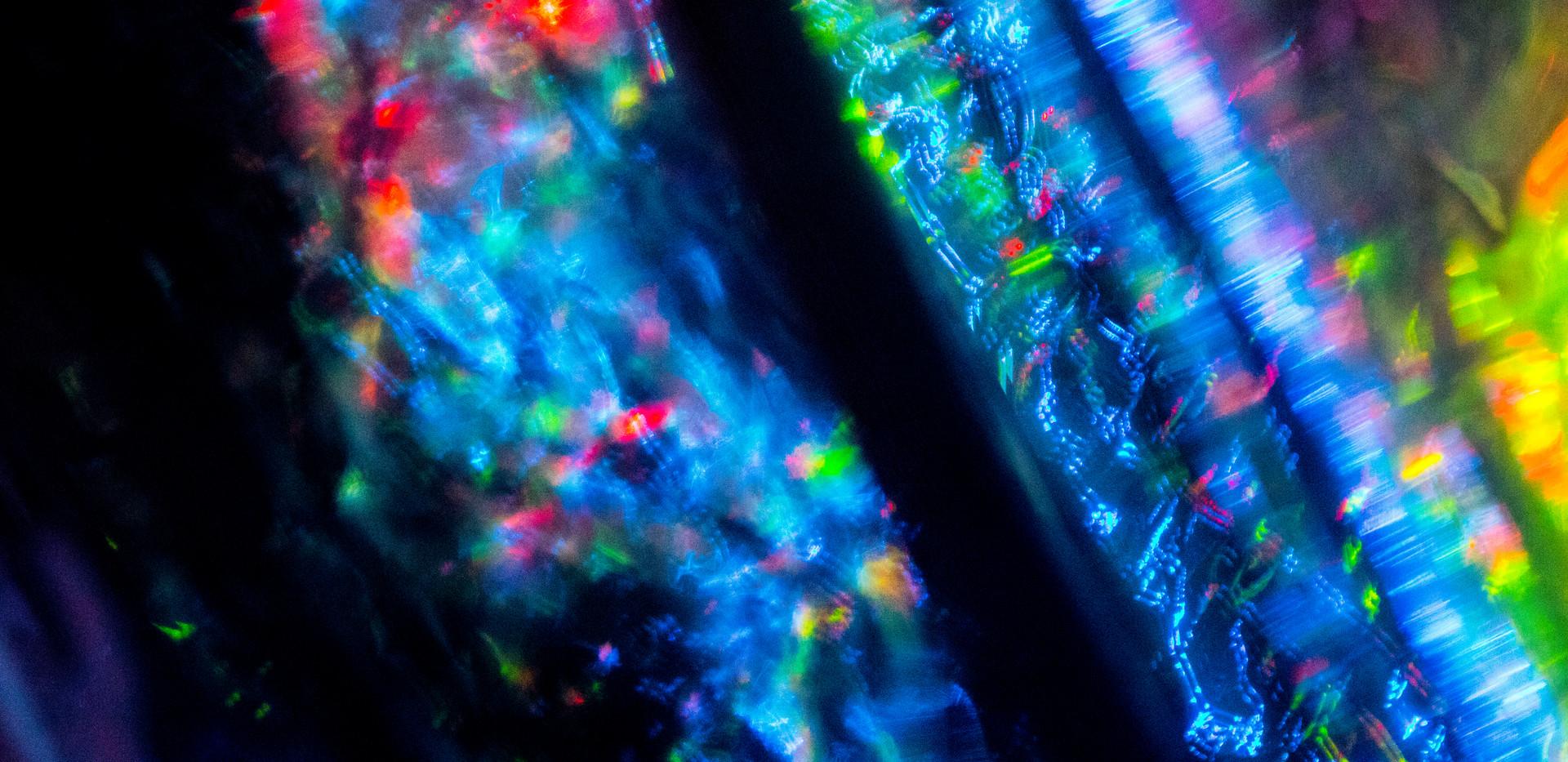 Mylar, LEDs, Canon T6i