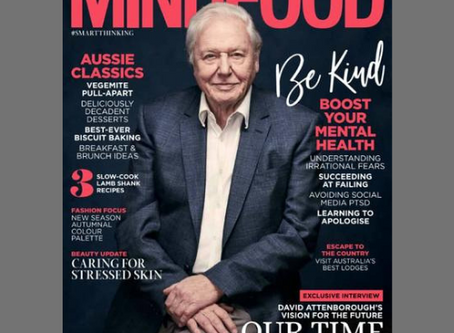 Alcohol Free - My Story in MiNDFOOD Magazine, June 2020
