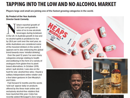 TAPPING INTO THE LOW AND NO ALCOHOL MARKET