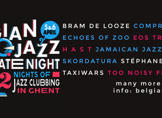 4 Aubergine bands showcasing at the Belgian Jazz Meeting & its official OFF program