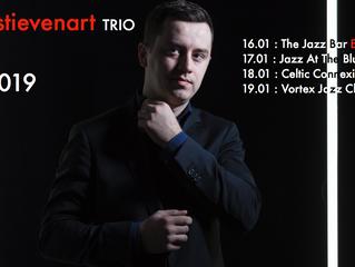 Jean-Paul Estiévenart touring through the UK & Scotland this week!