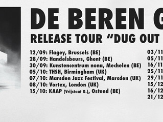 Tonight: first concert of De Beren Gieren's Dug Out Skyscrapers release tour at Flagey!