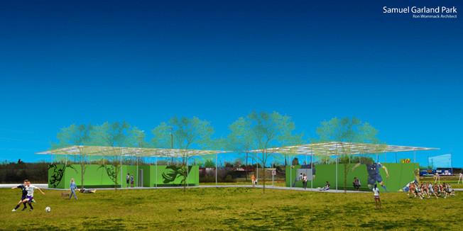 Samuel Garland Park Pavilions