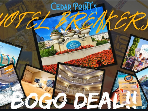 Cedar Point Getaway Sale