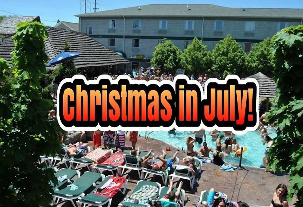 Christmas In July Party!