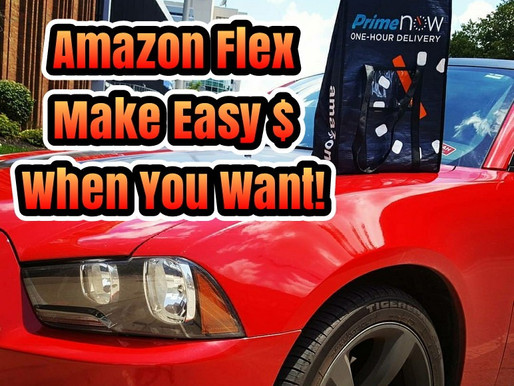Earn Extra $ with amazon flex
